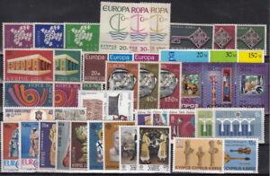 CEPT-Ausgaben-ZYPERN-TURKZYP-bis-80er-Jahre-postfrisch-MW-47-50-2Y-125-2