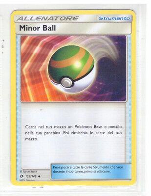 MINOR BALL 123//149 SET SOLE E LUNA NON COMUNE CARTA POKEMON ITALIANA NEAR MINT