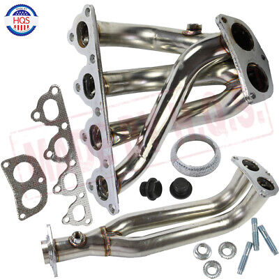 EK EM EX LX DX 1.5L 1.6L D15 D16 SOHC Stainless Steel Header 88-00 Honda Civic