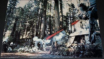 STAR WARS - RETURN OF THE JEDI 1983 ORIGINAL 30x20 PHOTOBUSTA PROMO POSTER!