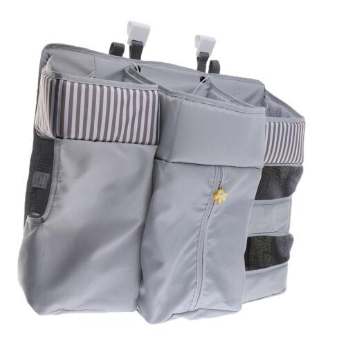 Baby Crib Nursery Storage Bag Hanging Diaper Organizer