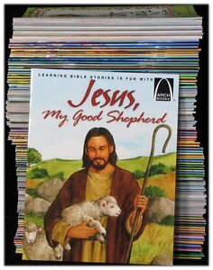 NEW-Arch-Books-Set-of-134-Volume-Kids-Children-Bible-Stories-Lot-Religious-Story
