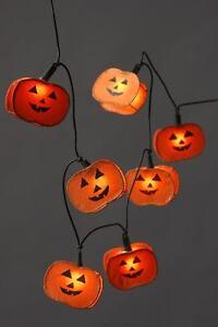 Halloween Lichterkette 10 Flammig Dekoleuchte Dekolampe Dekoration