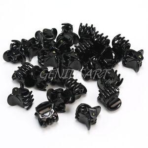 24-Pieces-Femmes-Chapeau-Noir-Epingle-A-Cheveux-Accessoire-Mode-Mini-Pince