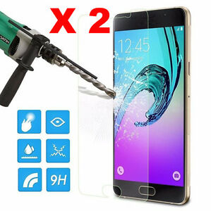2X-9H-Tempered-Glass-Screen-Protector-For-Samsung-Galaxy-A3-A5-A7-2016-2017