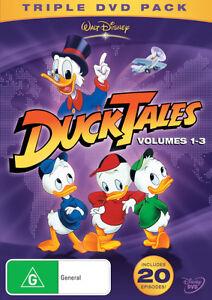 DuckTales-Volume-1-2-3-20-Episodes-NEW-DVD-donald-duck-tales-REGION-4-AUST