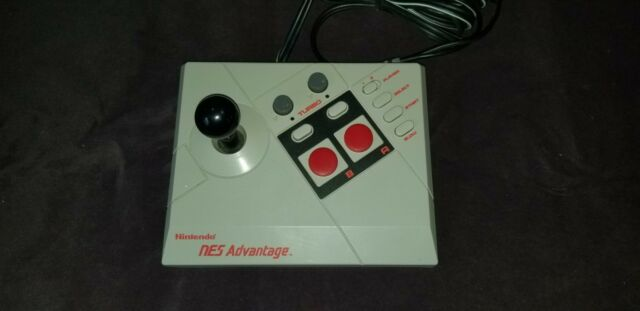 Nintendo Advantage (NES026) Joystick ORIGINAL EQUIPMENT REBUILT TO WORK GREAT