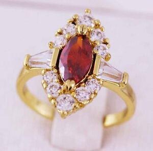 24k-24ct-Yellow-Gold-GF-Garnet-Cluster-Ring-24k-gf