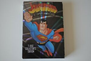 Superman-The-Complete-Animated-Series-7-Disc-Set-DVD-Collector-039-s-Edition