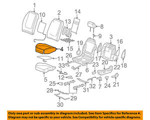 image is loading chevrolet-gm-oem-04-05-malibu-front-seat-