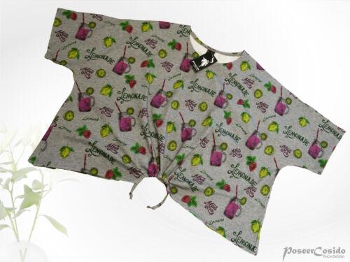 Poco Lagenlook xxl xl shirt Kurz Überwurf Design Kasten xxxl L 3xl Raffung paqrpw7
