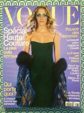 VOGUE PARIS French n°780 Sept 1997 Spécial Haute Couture Mode Luc Bondy