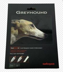 Audioquest SUB-Kabel Greyhound SUB 3 m