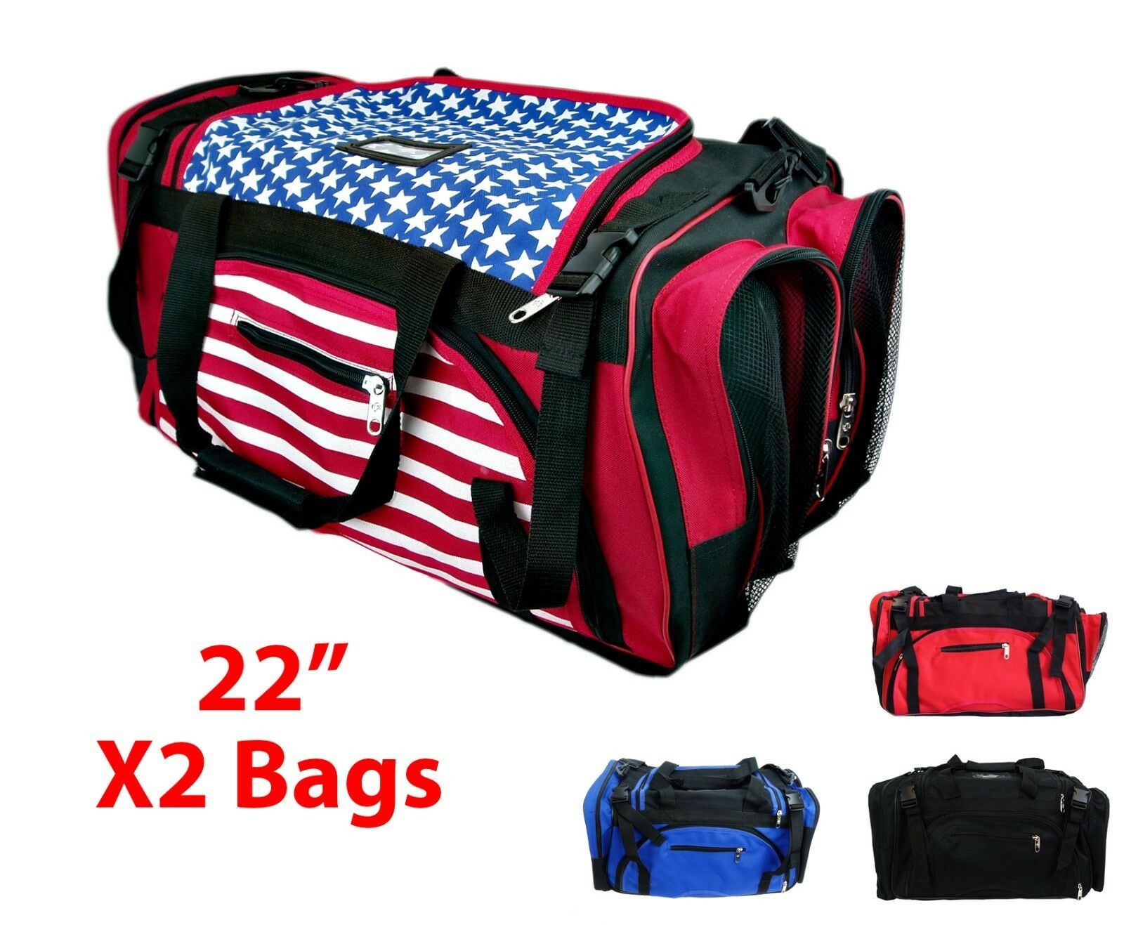 X2 High Quality  Equipment Gear Bag Taekwondo Karate MMA Martial Arts Travel 22   up to 50% off