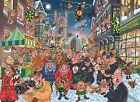 Wasgij 19131 Christmas 12 The Big Turn on Jigsaw Puzzle 1000-piece Kids Will Lov