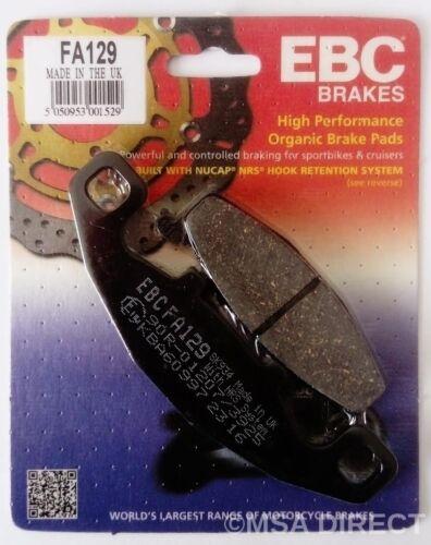 EBC Organic REAR Disc Brake Pads FA129 Kawasaki ZZR600 D Models - 1990 to 1993