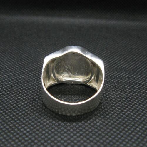 Sterling Silber Herren Biker Ring Totenkopf massiv echt punziert 925 Handarbeit