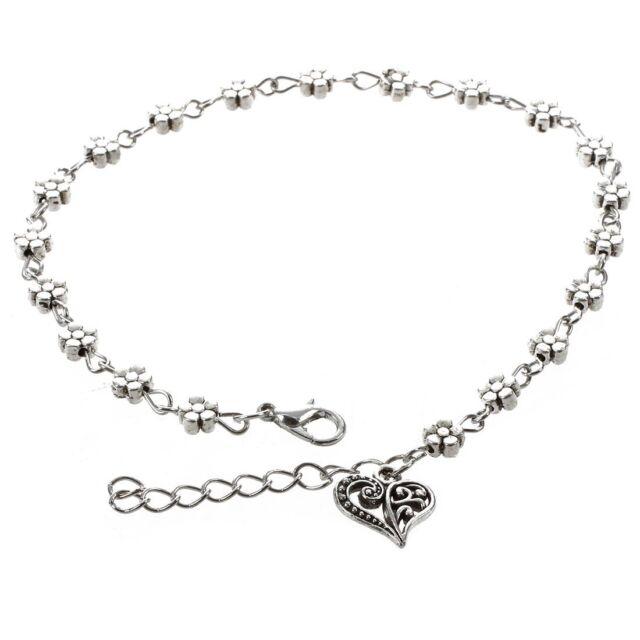 Women Chain Ankle Charm Bracelet Barefoot Sandal Beach Foot Jewelry Anklet Z8K5