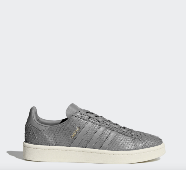 promo code f7b05 ffeec NEW Womens Adidas Campus Shoes Color Gray Size 10