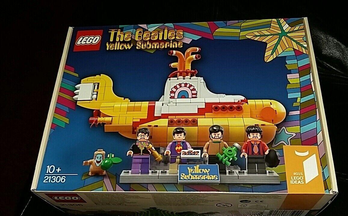 LEGO-The Beatles jaune Submarine - 21306 Brand New & Box Sealed