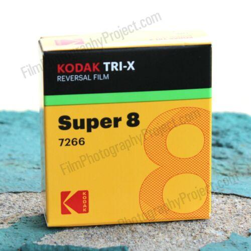 KODAK TRI-X BW REVERSAL 7266 New, Kodak Fresh SUPER 8 FILM