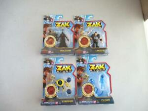 BANDAI-Zak-Storm-Level-Up-Coin-4-Figure-Lot-3-034-NEUF-dans-emballage-2017