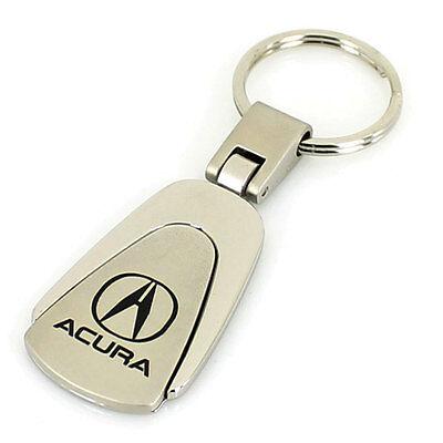 Acura Chrome Tear Drop Keychain