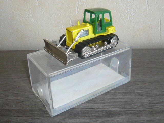 Bulldozer hanomac n'255 majorette en boite cristal