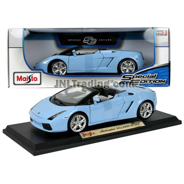 NEW Maisto Special Edition Die Cast Car Blue Sport LAMBORGHINI GALLARDO SPYDER