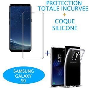 Lamina-Curvo-Integral-Total-Samsung-Galaxy-S9-Cubierta-de-silicona