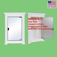 Corner Cabinets White Urethane Foam Damaged | Renovator's Supply