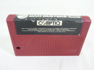 MSX-DAM-BUSTERS-Cartridge-only-Import-Japan-Video-Game-1881-msx