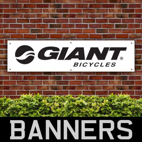 Giant Bicycles PVC Banner Garage Workshop Giant Bike Sign BANPN00038