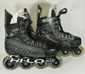 Mission-Hockey-Inhaler-DS7-JR-Inline-Hockey-Roller-Blades-Size-US-3E-Shoe-U-S-4