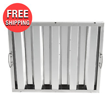 New Stainless Steel Commercial Kitchen Exhaust Hood Grease Filter 16 X 20 X 2