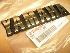ORIGINAL YAMAHA TANK SCHRIFTZUG GOLD EMBLEM BADGE XJ650 XJ900 STICKER AUFKLEBER