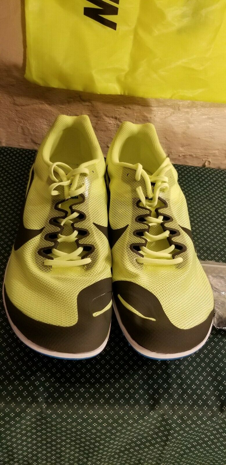 Nike Zoom Rival D 10 Track Distance Spikes shoes Bag 907566-703 Mens Sz 14 New