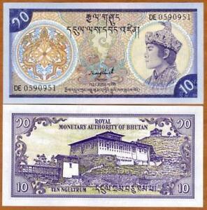 Bhutan-10-Ngultrum-1992-UNC-10