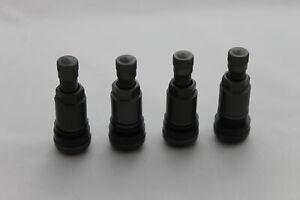 PKW-Aluminiumventile-Anthrazit-4x-Felgenventile-Metallventil-11-3mm-Alufelgen