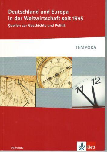 1 von 1 - Deutschland und Europa in der Weltwirtschaft seit 1945 (TEMPORA)