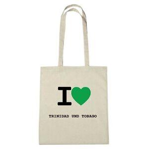 Eco et naturel Couleur Environment Trinidad Love Tobago Jute I Sac 80aqnzIz