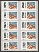 US CVP91 Flag at Dusk Vended ATM forever sheet 10 MNH 2014