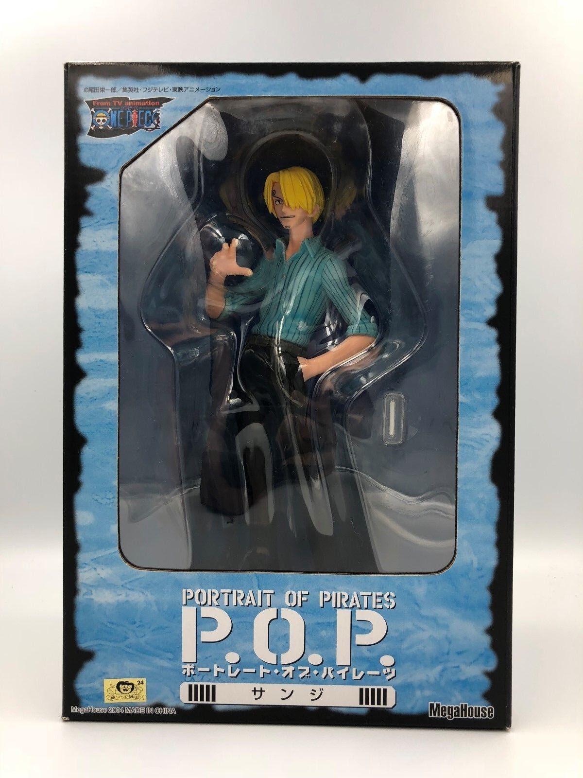 One Piece Portrait Of Pirates Series 2 Sanji Figure Megahouse Japan  P.O.P POP
