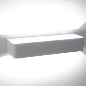 Applique da parete a led 12w luce bianca lampada parete for Lampada arredo