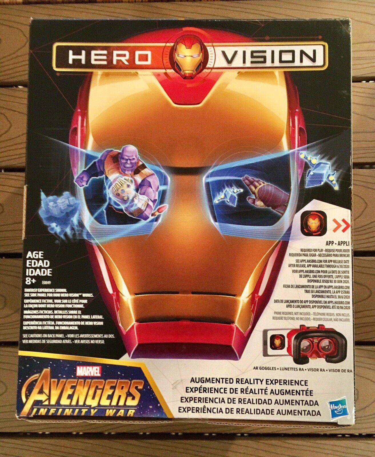 Avengers Infinity War IRON uomo  HELMET Hero Vision AR Experience BRe nuovo   risparmia fino al 70%