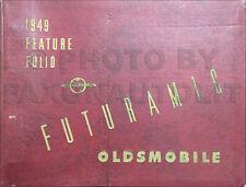 1949 Oldsmobile Feature Folio Dealer Album 49 Olds 88 98 76 Showroom Accessories