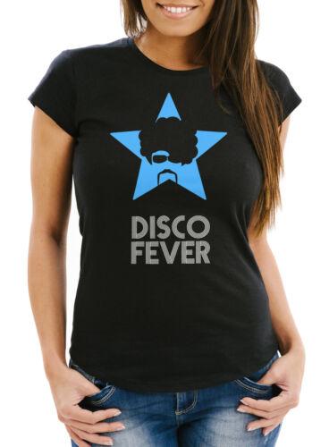 T-shirt Femmes rétro disco Fête Fever slim fit moonworks ®