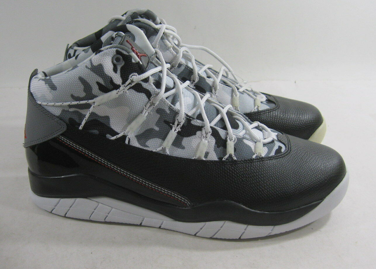 Jordan Prime Flight Basketball shoes 616846 020 Black Gym Red Pure Size 9