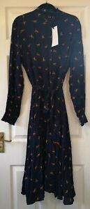 Just-Female-Women-039-s-Blue-Veria-Horse-Print-Maxi-Dress-Size-L-Large-New-With-Tags
