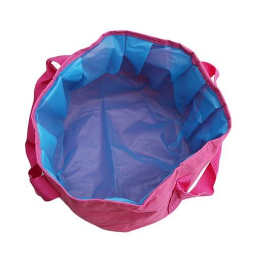 Portable Folding Wash Basin Foot Bucket Collapsible Bucket for Outdoor Travel W